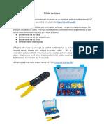 Kit de sertizare