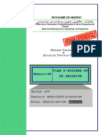 M08 Plan d'hygine et de securité-BTP-MAl