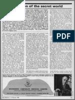 Colonel Alan Brooke Pemberton & Diversified Corporate Services Limited - ABP & DCS Salesman of the Secret World