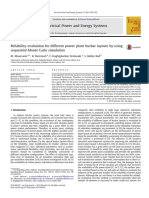 Reliability evaluation for different power plant busbar layouts by using sequential Monte Carlo simulation.pdf