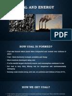 Coal and Energy