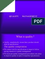 Quality Management