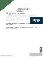 RECIBE CAUSA A PRUEBA C-233-2019 Letras TOMÉ.pdf