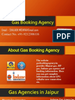 Gas Booking Agency