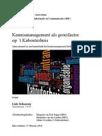 Kennnisbank en intranet op het MOC