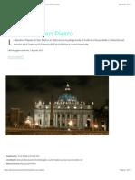Basilica di San Pietro in Vaticano | Storia, Descrizione ed Informazioni.pdf