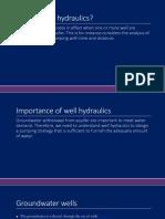 well-hydraulics basics