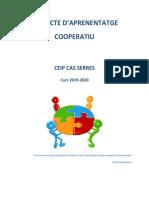 PROJECTE APRENENTATGE COOPERATIU  DEL CEIP CAS SERRES