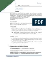 Tema 1 - Estructura Reticular