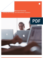 Apple Education Professional Services Brochure