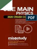 Crash Course JEE Main Sample eBook
