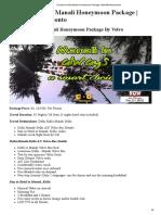 Exclusive Kullu Manali Honeymoon Package