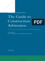 The Guide to Construction Arbitrator 3rd Edition