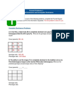 Punnett Square Problem Solving