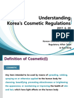 15.00. Understanding Korea's cosmetic regulations