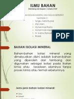 ILMU BAHAN mineral dan serat