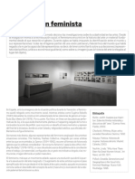 Museo Reina Sofia - La revolución feminista
