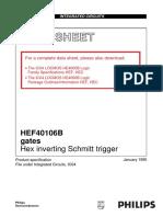Datasheet HEF74106BP