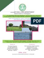 P V Narasimha Rao Kanthanapally Sujala Sravanthi Project - Jayashankar Bhupalapally-Draft EIA Report ENG (Vol-I).pdf
