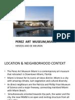 Perez Art Museum,Miami