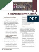 10 NOVOS MEMBROS - A IPB Tubarao