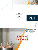 REPORT Learning theories (MTE)ppt