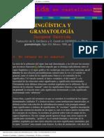 Derrida, Jacques - Lingüistica y Gramatología - El afuera es el adentro
