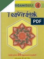 Teavirágok - Origamisuli 4