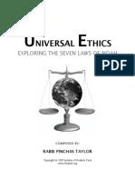 Universal Ethics