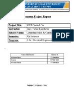 AC Machine Report
