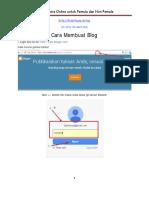 1 Bonus Ebook Cara Membuat Blog