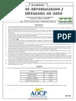 NM -2013 Administrador de Rede - CORENSC