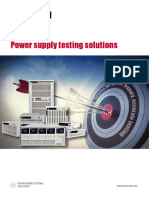Power supply Test Solution