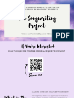 the songwriting project-3