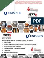 Curso_Especialização em SCI_ABPP_Protecao_Passiva_Contra_Incendio_UNISINOS