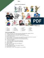 Trabajos en Ingles