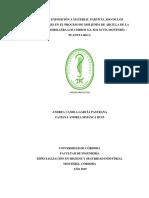 NIVEL DE EXPOSICIÓN A MATERIAL PARTICULADO DE LOS TRABAJADORES EN EL PROCESO DE MOLIENDA DE ARCILLA DE LA EMPRESA LADRILLERA LOS CERROS S.A. KM 34 VÍA MONTERÍA – PLANETA RICA