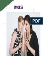 RUMORES y COMUNICACION EN CRISIS