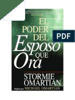 Stormie Omartian -  El Poder Del Esposo Que Ora.docx