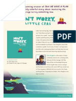 Dont Worry Little Crab by Chris Haughton Press Release