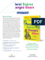 Merci Suárez Changes Gears by  Meg Medina Teachers' Guide
