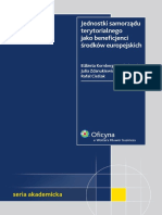 Jednostki samorządu terytorialnego jako beneficjenci środków europejskich - ebook.pdf