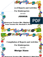 Compilation of Reports and Activities