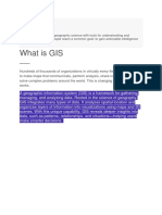 How GIS Works