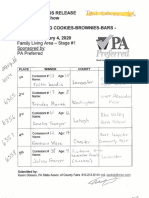 2020 Pennsylvania Farm Show Junior Baking Recipes