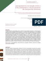 Supercapitalismo na relação entre licenciamento ambiental e o financiamento de campanhas eleitorais