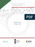 PROTOCOLO Hepatitis A