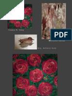 26 Obras de Arte de los pintores Susana King, Whitford Carter (+) y Antonio Roca (octubre 2019)