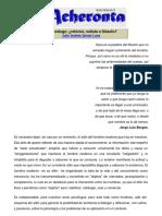 Julio Andrés Spinel Luna - El psicólogo - retórico, sofista o filósofo - Acheronta 22 -