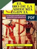 El libro de la sabiduria egipci - Naomi Ozaniec